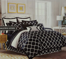 West Point Jill Rosenwald Hampton Links Navy White TWIN Duvet Cover 100% Cotton