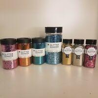 Glitter Shakers - Regular - Extra Fine and Confetti