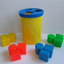 Vintage 1977 COMPLETE Fisher Price Shape Sorter Toy Playset
