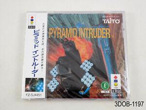 New Pyramid Intruder 3DO Japanese Import Panasonic Taito Japan JP US Seller