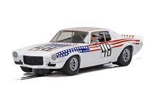 Scalextric Chevrolet Camaro, Stars N Stripes 1:32 slot car C4043