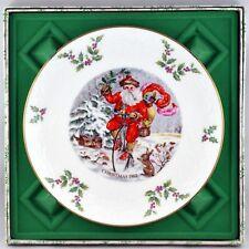 Vtg Royal Doulton Christmas 1982 plate sixth in series has original box