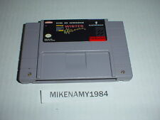 Tommy Moe's Winter Extreme: Skiing & Snowboarding game for Super Nintendo SNES