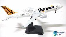18cm 1:200 Tiger Airline A320 Airplane Aeroplane Diecast Metal Plane Model