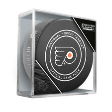 2018 NHL Philadelphia Flyers Stanley Cup Playoffs Hockey Puck in Case