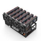 6/8/12 GPU Miners Open Air Mining Rig Ethereum BTC ETC Minercase Computer Frame