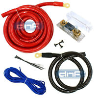 0 GAUGE POWER AMP KIT AMPLIFIER WIRING INSTALL COMPLETE STEREO CABLES 6000W