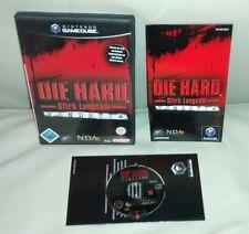 Die Hard muori lentamente per vendetta mascheraq NINTENDO GAMECUBE COMPLETO OVP CIB PAL NGC Wii