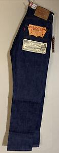 Levi's Vintage Clothing LVC 1976 501 Raw Selvedge Denim 501 Jeans NWT 32x34