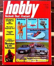 Hobby 17/1978 Test Targa-Autos:BMW 320 Baur,Porsche 911 SC,Opel Kadett Aero,usw.