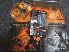 YNGWIE J. MALMSTEEN / war to end all wars /JAPAN LTD CD OBI  guitar pick