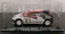 1/43 FORD FOCUS WRC ACROPOLIS RALLY 2002 C. MCRAE N. GRIST IXO ALTAYA ESCALA