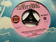 TRAFFIC HERE WE GO ROUND THE MULBERRY BUSH*COLOURED RAIN 1967 ISLAND PINK LABEL