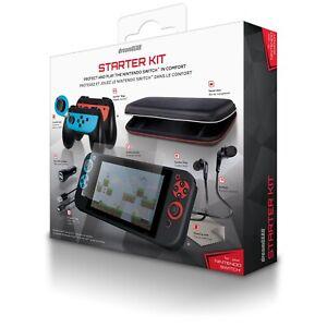 dreamGEAR Nintendo Switch Starter Kit Accessories Bundle DG-DGSW-6502