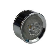 Mini Motorrad LED Rücklicht chrom mit Aluminium Gehäuse Bobber Chopperstyle