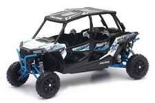 POLARIS RZR XP Turbo Eps QUAD ATV Blanco Azul Escala 1:18 von NewRay