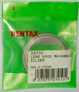 Pentax MH-RBB 43mm Silver Hood: HD Pentax-DA 21mm/f3.2