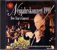 Neujahrskonzert aus Wien 1999 Lorin MAAZEL CD New Year's Concert from Vienna RCA