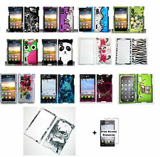 Hard Case Phone Cover for LG Optimus L5 Extreme L40G+ Free Screen Protector