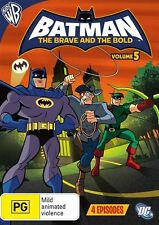Batman the Brave and the Bold: Season 1 - Volume 5 (Animated) NEW R4 DVD
