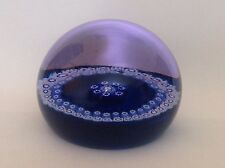 Scottish Caithness Millefiori Limited Edition Art Glass Paperweight