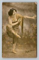 Mlle Marcia, Burlesque Pin-Up, Vintage Postcard