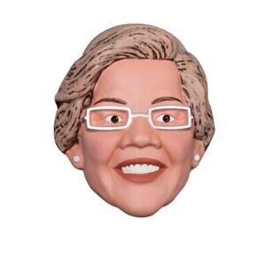 Elizabeth Warren 1/2 Mask Vacuform Senator President United States Adult Costume