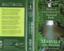 MARVELS OF THE MOUNTAINS - VHS - PAL - N&S - Never played - Original Oz release