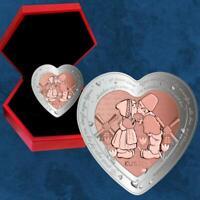 Niue - Fest der Liebe - Küsschen - 1 $ 2020 Silber PP - Valentinstag