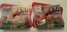 DISNEY PIXAR CARS MINI ADVENTURES BOOT CAMP SARGE LIGHTNING McQUEEN Doc Sheriff