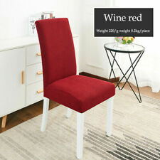 Furniture Protect Elastic Long Back Chair Covers Banquet Party Decor Slipcover