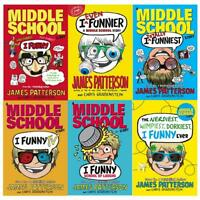 James Patterson  Collection I Funny I Even Funnier,TV  6 Books Set Brand NEW