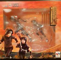 Naruto Shippuden Itachi Uchiha Sasuke G.E.M. MEGAHOUSE Figure NEUF