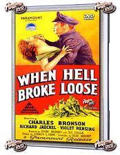 When Hell Broke Loose (1958)DvD Charles Bronson, Richard Jeackel, Violet Rensing