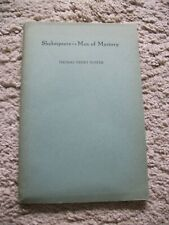 Shakespeare - Man of Mystery. By Foster, Thomas Henry