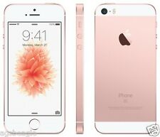 "Apple Iphone SE 16gb 4"" Rose Gold Factory Unlock 2016 New Cod Agsbeagle Paypal"