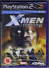 PS2 X-Men Legends II Rise of the Apocalypse (2005) Brand New & Factory Sealed