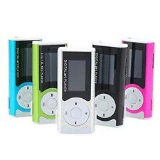 Portable Mini Digital MP3 Music Player LCD Display LED Torch TF/MicroSD Slot