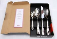 Alessi Nuovo Milano 4 Pieces Table Cutlery Set Box couverts Couteaux Fourchette