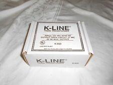 K LINE K-950 TRAIN TRANSFORMER IN ORIGINAL BOX
