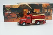 Matchbox Yesteryear Fire Engine Vigili Del Fuoco 1/43 Bedford Petroliera 1939