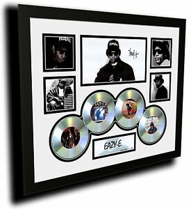 EAZY-E NWA SIGNED LIMITED EDITION FRAMED MEMORABILIA