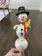 Christopher Radko Tree Finale Very Rare Frosty The Snowman