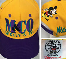 Vintage Disney Mickey Mouse Hat Universal Cap Mickey & Co Snapback One Size New
