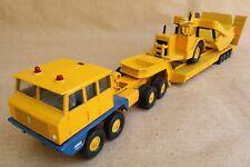Camion BERLIET T12 semi transport scraper - MAJORETTE Réf : 4550 - échelle 1:50