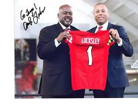 Mike Locksley Maryland football coach autographed signed 8x10 photo Terps 2019