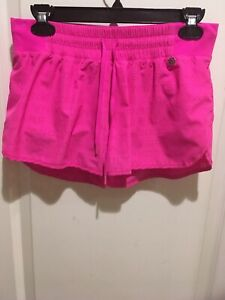 LORNA JANE ACTIVE Pink Run Short - Sz XS - EUC