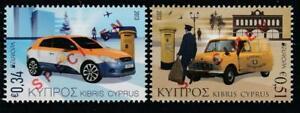CYPRUS 2013 EUROPA CEPT POSTAL VEHICLES Mi.1257-58 SPECIMEN MNH SET