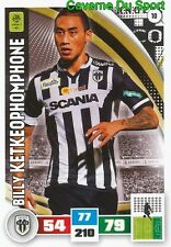 010 BILLY KETKEOPHOMPHONE SCO.ANGERS FC.SION CARD ADRENALYN LIGUE 1 2017 PANINI