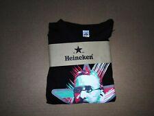 Tee-shirt Heineken staff édition citoyenne L homme men n1 vintage